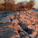 Cherry Beach Shoreline restoration project by Bronte Construction